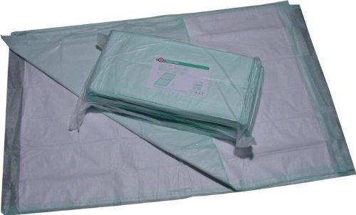 50 Krankenunterlagen Größe 60 x 60 cm Ribocare 6 - lagig