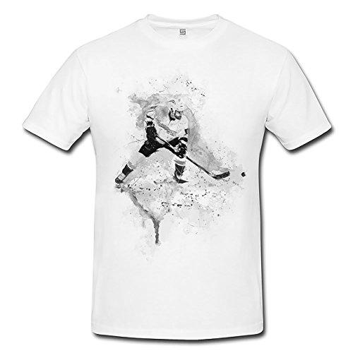 Eishockey III T-Shirt Frauen, Mädchen mit Stylischen Motiv von Paul Sinus
