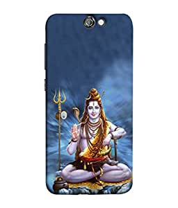 PrintVisa Designer Back Case Cover for HTC One A9 (Shiva In The Kailash Mountain)