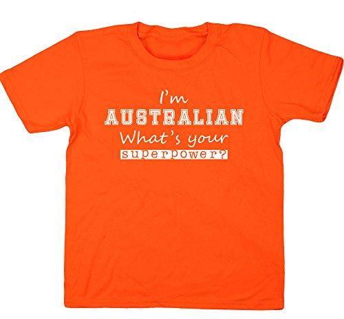 hippowarehouse-camiseta-de-manga-corta-para-nina-naranja-naranja-3-4-anos
