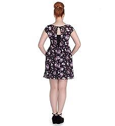 Ripleys Clothing Hell Bunny Black Love hearts Cat Mini Dress Kitty Blossom Amelia All Sizes by HELL BUNNY