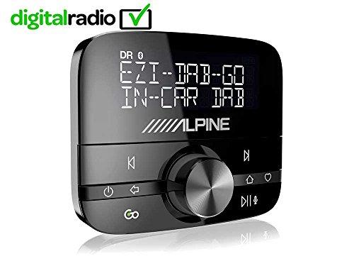 Alpine ezi-dab-go Auto Digital schwarz tragbares Radio–Radios Notebooks (Auto, DIGITAL, DAB, DAB +, 87,6–107,9MHz, 174–240MHz, LCD) Alpine Interface