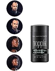 TOPPIK Fibres Capillaires Densifiantes Noir, 3 g