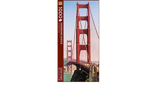 1000 Piece Panoramic Golden Gate Puzzle By Janet Fikar Andrews Blaine LTD