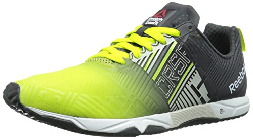 46a54a0a9ee1f9 Reebok Men Fluorescent Green And Grey R Crossfit Sprint 20 Sbl Training  Shoes