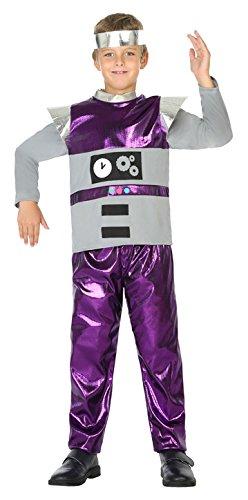 Roboter Kostüm Jungen - ATOSA 39399 Roboter, Jungen, mehrfarbig, 116