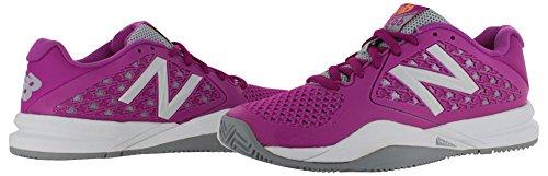 New Balance Women's 996v2 Tennis Shoe, Purple, 10 D US Fuschia/Grey/White