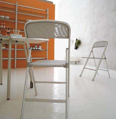Sedie Pieghevoli Calligaris Design.Sedie Calligaris Set 2 Sedie Pieghevoli Alu Casa E Cucina Arredamento