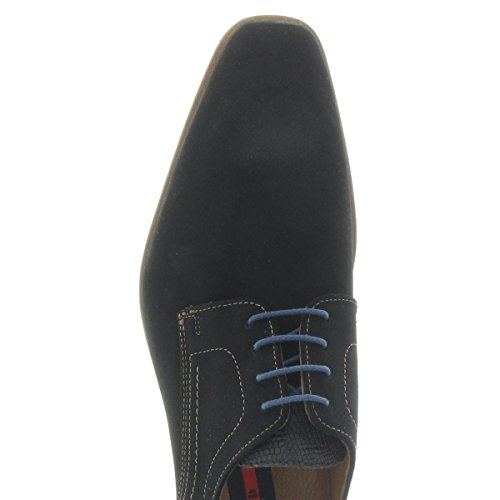 LLOYD , Chaussures à lacets et coupe classique homme schwarz/grigio