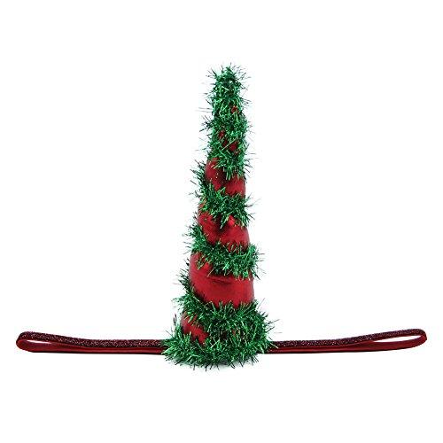 QtGirl Weihnachten Einhorn Stirnband Funkeln Elastisches Stirnband Halloween Party Kostüm Zubehör