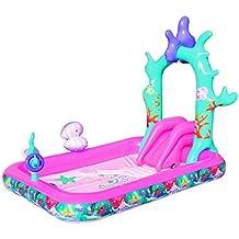 Bestway Disney Princess Ariel Aire de jeu interactive 249 x 168 x 180 cm