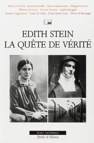 Edith Stein : La Quête de vérité