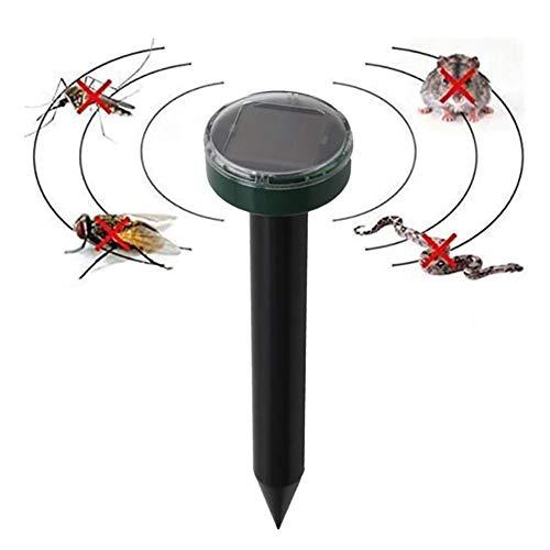 Sarplle Ultraschall Tier Repeller 1PCS Solar Maulwurfabwehr Abwehr für Gegen Schädlinge, Rotwild, Stinktier, Opossum, Katzen, Eichhörnchen