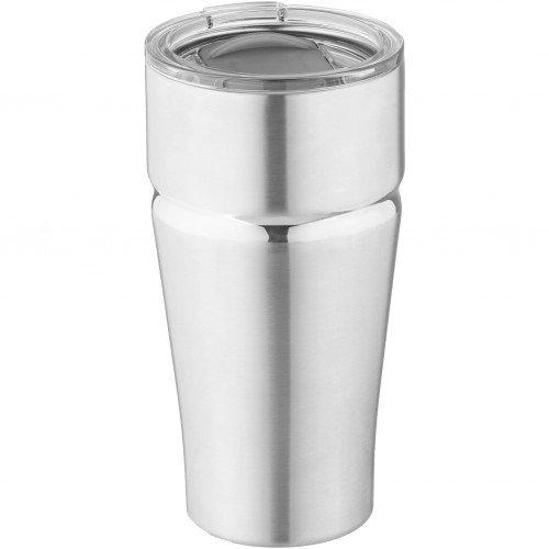 Avenue - Vaso térmico al vacío modelo Milo (9.3 x 18.2 x 9.3 cm/Plata)