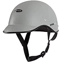 Habsolite HB-MWG1 Mini Wrinkle All Purpose Safety Helmet with Quick Release Strap for Men & Women (Grey, Free Size)