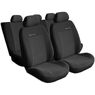 Auto-Dekor 5907806251627 Yeti Maßgefertigte Sitzbezüge, schwarz