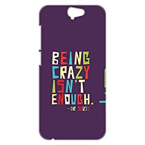 a AND b Designer Printed Mobile Back Cover / Back Case For HTC One A9 (HTC_A9_3D_2259)