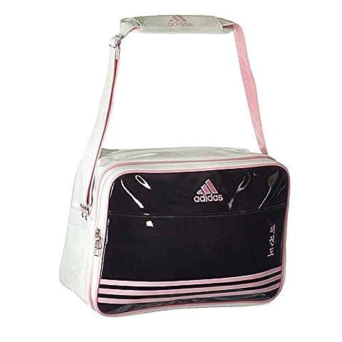 adiACC100CS2 Shiny Sports Bag PU schwarz/pink/weiß TKD
