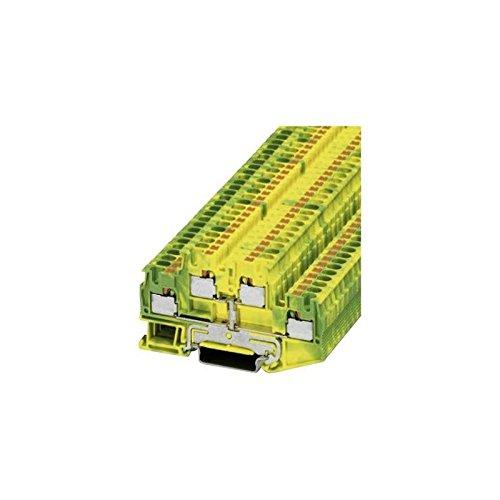 Phoenix Contact PTTB 4-PE 3211854 Schutzleiter-Doppelstockklemme Polzahl: 4 0.2 mm² 4 mm² Grün-Gelb 1 St.