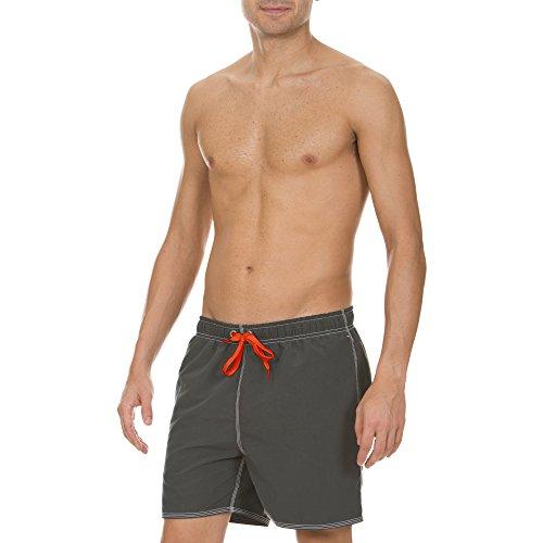 arena Herren Badeshortss Fundamentals Solid Boxer (Schnelltrocknend, Kordelzug, Weiches Material) (Kordelzug Klassische Badehose)
