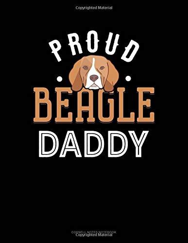 Proud Beagle Daddy: Cornell Notes Notebook por Jeryx Publishing