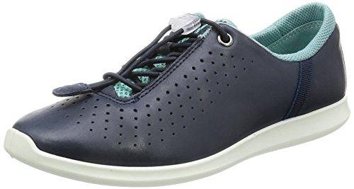Ecco Damen Sense Sneakers, Blau (50557MARINE/Aquatic/Retro Blue-Marine), 42 EU