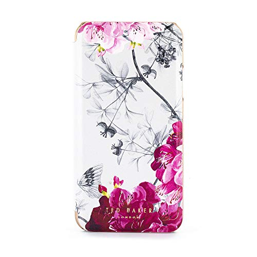 0771ab9561b Ted Baker Fashion Mirror Folio Case for iPhone XR, Protective Cover iPhone  XR for Professional