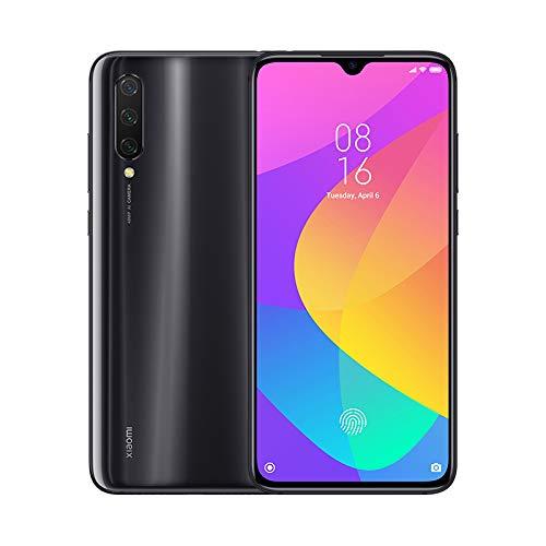 """Xiaomi Mi 9 Lite - Smartphone con Pantalla AMOLED FullHD de 6,39"""" (Qualcomm SD710 2.2GHz, Triple cámara de 48 + 8 + 2 MP y Selfie de 32MP, NFC, 4030 mAh, 6GB+64GB) Color Gris ónice [Versión española]"""
