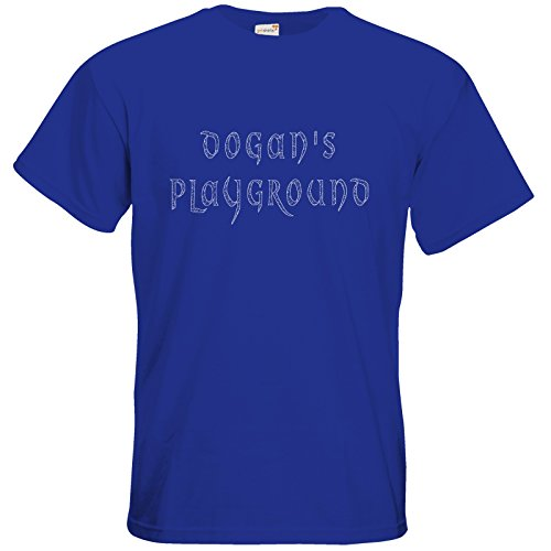 getshirts - TasteofGames - T-Shirt - Dogans Playground Royal Blue