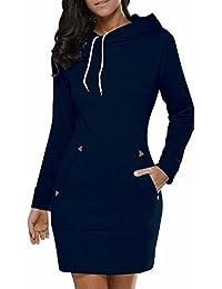 Lanisen Womens Plus Size Hoodies Long Sleeve Cotton Hooded Sweatshirts 6-22