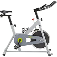 Tesco Aerobic Home Indoor Exercise Spin Bike with 10kg Flywheel - Grey