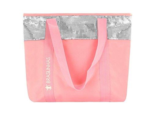 Brasilinhas Tela e da spiaggia blu pink pink