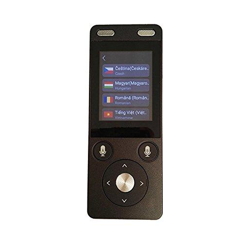 Portable Voice-Übersetzer Zwei-Wege-Elektronisches Wörterbuch 32 Mehrere Sprachen Smart-Interpreter, Business Travel Tool, Simultanübersetzung Automatischen Übersetzer -1250Mah Touchscreen Android 6.0
