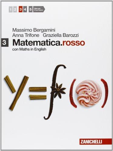 Matematica.rosso. Con Maths in english. Con espansione online. Per le Scuole superiori