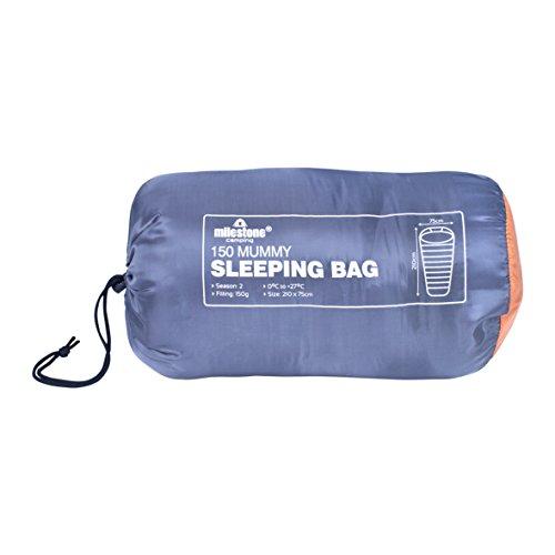 41yFnp5NpxL. SS500  - Milestone Camping Mummy Sleeping Bag