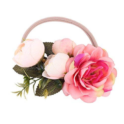 Kids Mädchen Baby Bowknot Design Haarband Kleinkinder Stirnband Flower Dekoration Infant Haar Band Zubehör