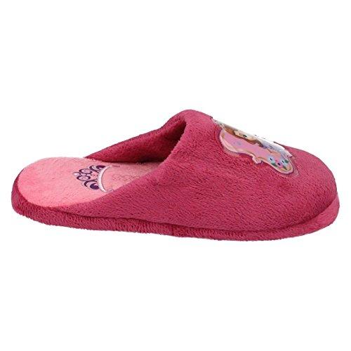 Filles Princesse Sofia la première Pantoufles violet/rose