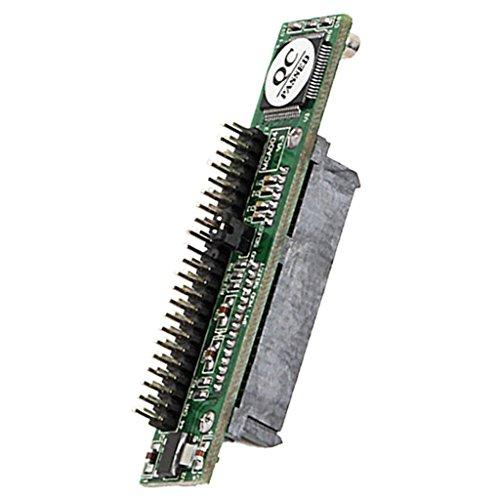 Sharplace 2.5Zoll SATA 22 Pin Buchse auf 44Pin IDE Stecker HDD SSD Adapter Konverter Laptop SATA zu IDE-Karte, 44-polige IDE-Buchse für 2,5-Zoll-Notebook -