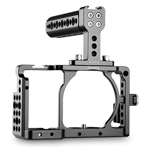 SMALLRIG Jaula a6300 Rig, Cage con Top Handle y HDMI Lock para Sony A6300 / A6000-1921