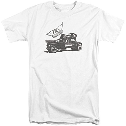 Aerosmith Herren T-Shirt Weiß