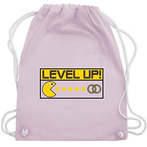 Kostüm Mann Nerdy - JGA Junggesellenabschied - Level Up! - Unisize - Pastell Rosa - WM110 - Turnbeutel & Gym Bag