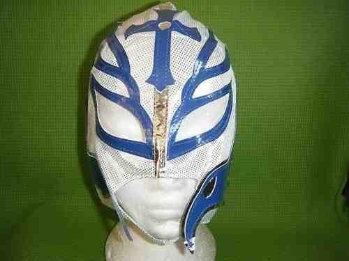 weiß Rey Mysterio Ringer Maske WWE Kostüm Verkleidung Kostüm Outfit WWF Mexikanisch Kinder Lucha Libre Kleidung Kleidung Party NEU