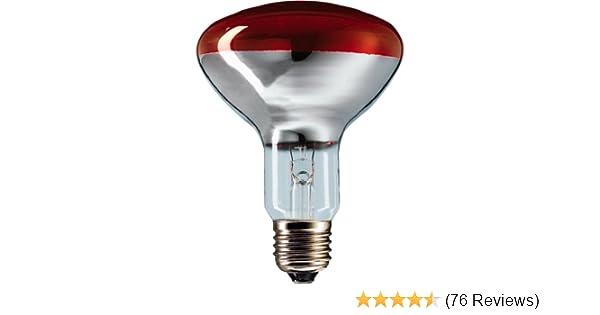 Kerbl Hartglaslampe Philips 150W 240V rot
