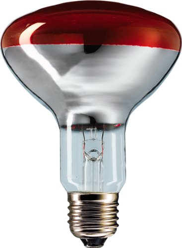 Philips IR 250R R125 E27 Infrarotlampe Wärmelampe 250 Watt
