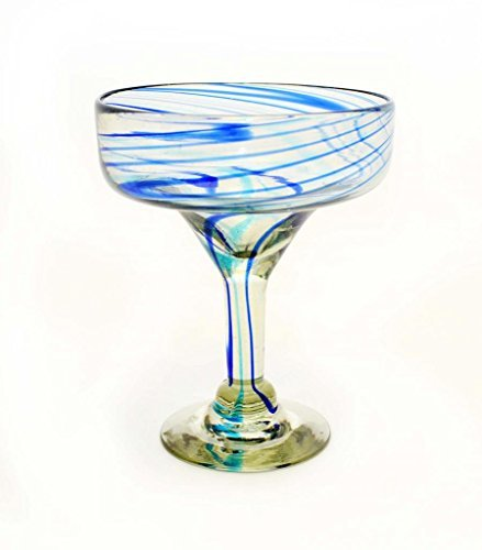 set-of-4-aqua-and-cobalt-swirl-margarita-glasses-recycled-glass-14oz-handmade-by-laredo