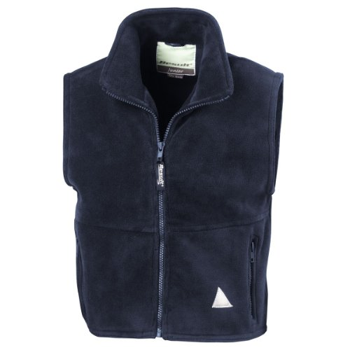 Ergebnis Kindes aktiv Fleece Weste Navy