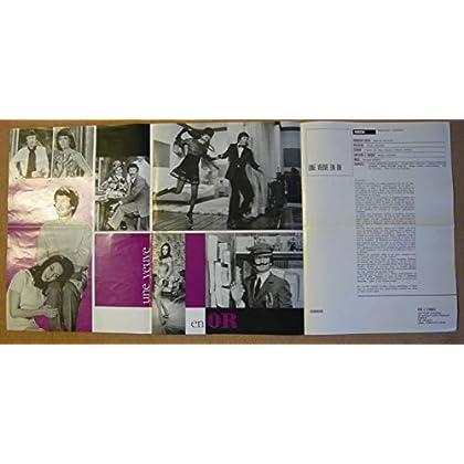 Dossier de presse de Une veuve en or (1969) – Film de Michel Audiard avec Michèle Mercier, Claude Rich – Photos N&B + couleurs – résumé du scénario – Bon état