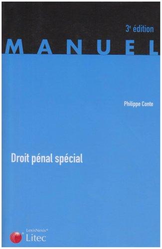 Droit pénal spécial par Philippe Conte