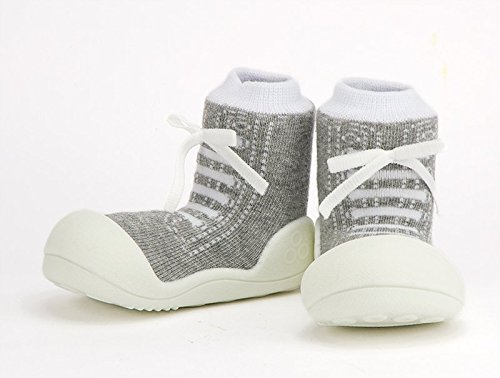 Attipas , Chaussures premiers pas pour bébé (fille) bleu 19 gris
