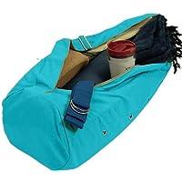 Bahadra Yogamattentasche Tasche für Yogamatte 70 x 21 cm Olive, Rot, Pink Oder türkis